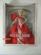 DAMAGED BOX 2019 Blonde Holiday Barbie Doll FXF01