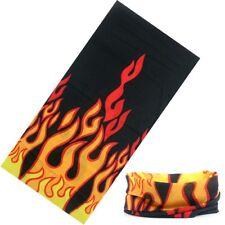 sciarpa bandana tubolare tipo moto softair microfibra flame UNISEX