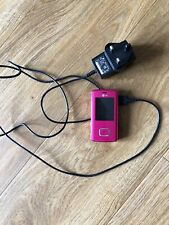 LG Chocolate KG800 - Pink Mobile Phone With Plug In
