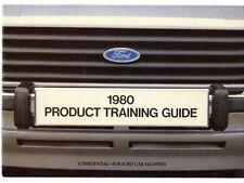 Ford Product Training Guide 1979-80 UK Market Salesmans Brochure Escort Cortina