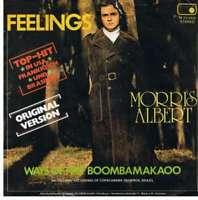 "Morris Albert Feelings 7"" Single Vinyl Schallplatte 13003"