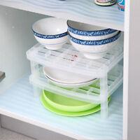 Over The Kitchen Sink Organizer Dish Drying Drainer Rack Storage Holder Shelf YD