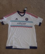 Chicago Fire 2015 Away Jersey adidas Climacool Men's Large
