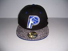 NEW ERA 59FIFTY INDIANA PACERS HWC NBA MEN'S FITTED HAT CAP SIZE 7 NEW