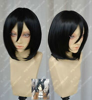Attack on Titan Shingeki no Kyojin Mikasa Ackerman Cosplay Wig
