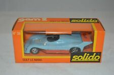 Solido 38 Gulf Le mans 1/43 mint in box superb