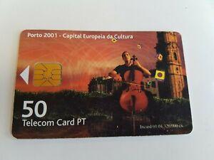 Telefonkarte Portugiesisch - Porto 2001 (A8115)