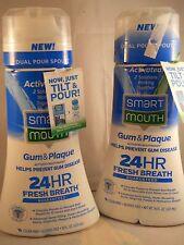 Smart Mouth Gum & Plaque Mouthwash, 16 oz each (2pk bundle) exp 2020