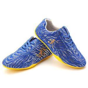 Tai Chi Kung Fu Shoes Trainers Martial Arts Sneakers Unisex Sport Taolu Footwear
