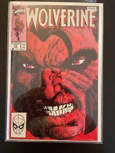 Wolverine 21 High Grade Marvel Comic Book D35-48