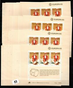 / 31X PORTUGAL, AZORES 1985 - MNH - EUROPA CEPT - MUSIC - WHOLESALE
