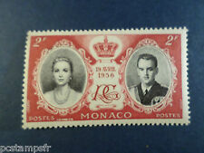 MONACO 1956, timbre 474, MARIAGE PRINCIER, neuf**, ROYAL MARRIAGE, MNH STAMP