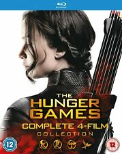 The Hunger Games - Complete 4-Film Collection (Blu-ray - Boxset)