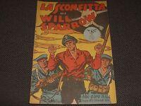 """ALBO D'ORO N.144 I° EDIZIONE 1949 LA SCONFITTA DI WILL SPARROW - OTTIMO """"U"""""""