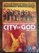 CITY OF GOD | Excellent 2002 Brazilian Crime / Gang Drama | UK DVD BNIB