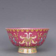 Collection Chinese jingdezhen Porcelain Wire Inlay Colour Enamels Flower Bowl
