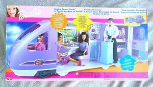 VINTAGE BARBIE TRAVEL TRAIN (2001). IMPOSIBLE TO FIND! (MUÑECA) BRAND NEW, OS!