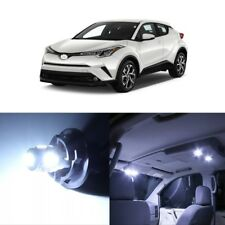 10 x White LED Interior Lights Package For 2018 and Up Toyota C-HR CHR + TOOL