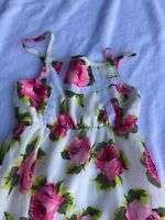 The Children's Place girls sleeveless dress xs size 4 floral flowers summer 4T