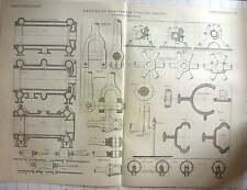 1891 detalles de horizontal Corliss Motor bollinckx BRUSELAS