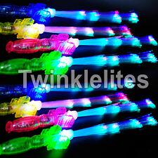 12 Light Up Fiberoptic Star Wands Princess LED Fiber Optic Lot Favors Toy Sticks