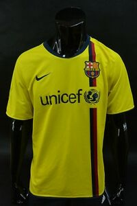 Barca 2008-10 nike FC Barcelona Away Football Shirt SIZE L (adults)