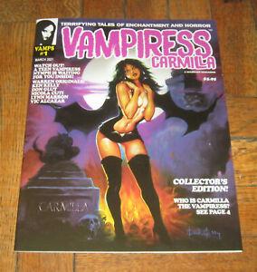 VAMPIRESS  CARMILLA # 1  MAR. 2021  WARRANT