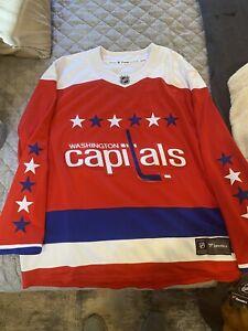 Washington Capitals Fanatics alternate jersey size XXL new with Tags MSRP $130