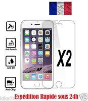 Lot/2 Vitre Ecran Film Verre Trempé protection Pour Apple iphone 4/5/6/S/Plus