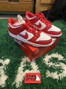 Brand New Nike Dunk Low University Red UK 8.5 US 9.5 EU 43