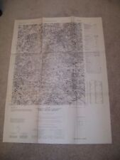 1951 U. S. Army Corps of Engineers Topo Map of Bavaria Augsburg East Germany