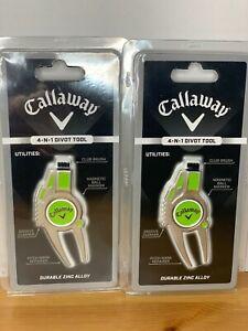Callaway 4-in-1 Divot Repair Tool Brand New !