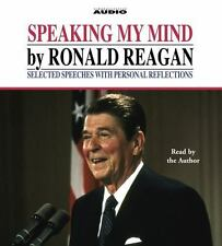 Speaking My Mind by Ronald Reagan Speeches & Personal Reflections Audiobook CD