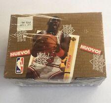 1992-93 Upper Deck European Basketball Box Exclusive Michael Jordan Cards