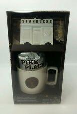 Starbucks Coffee Heritage Holiday Collection Ornament and Mug Pike Place 2014