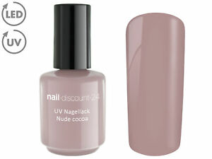 UV Polishgel NUDE COCOA 15ml Design Nagel Lack Soak Off LED Gel Farb Nail Braun