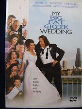 My Big Fat Greek Wedding (DVD, 2003, Widescreen & Full Frame) Very Good