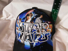 Star Wars New Hope Baseball Cap Black One Size Collage Solo Leia Drth Vader Luke