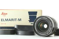 """MINT+++ in Box"" LEICA ELMARIT-M 28mm F/2.8 E49 3rd MF Lens for M Mount JAPAN"