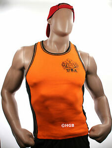 Mens Workout NPC Bodybuilding Wear Ribbed Tank Top Gym Clothing ALL COLORS SIZES