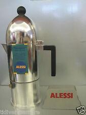 ALESSI -  CAFFETTIERA A9095/6 B-TAZZE 6-ALLUMINIO- aldo rossi