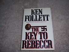 THE KEY to REBECCA by Ken Follett/1st Ed/HCDJ/Literature/Mystery/Thriller