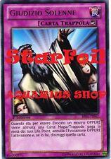 Yu-Gi-Oh! Giudizio Solenne StarFoil 1° ED in ITALIANO BP01-IT047 Solemn Judgment