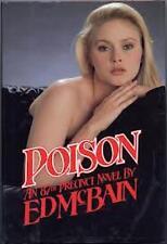 Poison: An 87th Precinct Novel 1987 by Ed McBain with dust jacket first printing
