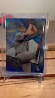 2020 Topps Finest Los Angeles Dodgers Clayton Kershaw 023/150 Blue Refractor