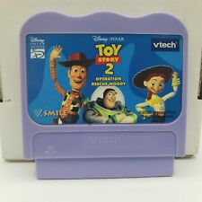 Vtech V Smile Game Cartridge only Toy Story 2 Operation Rescue Woody
