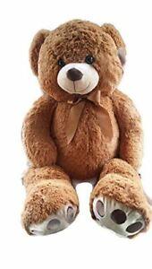 "Soft and Cuddly X-Large Stuffed Brown Bear 36"" Plush Stuffed Teddy Bear NEW"