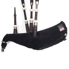 Canmore Hybrid Hide Zip Pipe Bag Highland Bagpipes small medium or large sizes
