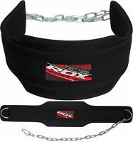 RDX Weight Lifting Belt Bodybuilding Gym Back Support Dipping Fitness Training