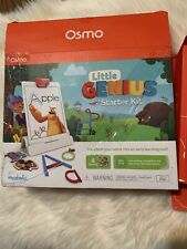 Osmo Little Genius Starter Kit 4 Game Pack Ages 3-5 Condition Great Box Damaged